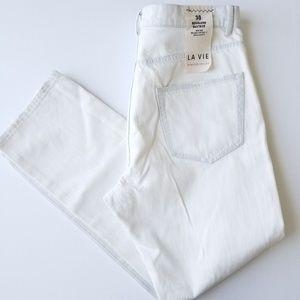 LA VIE REBECCA TAYLOR  Boyfriend  Mid-rise Jeans